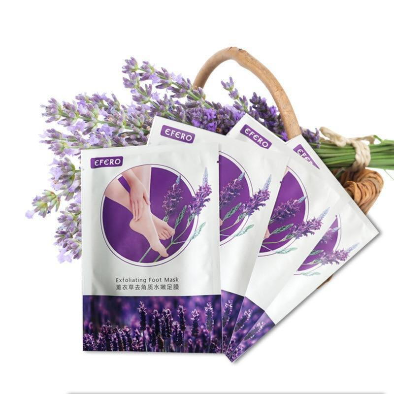 Deep Hydration Lavender Foot Peeling mask - outoff