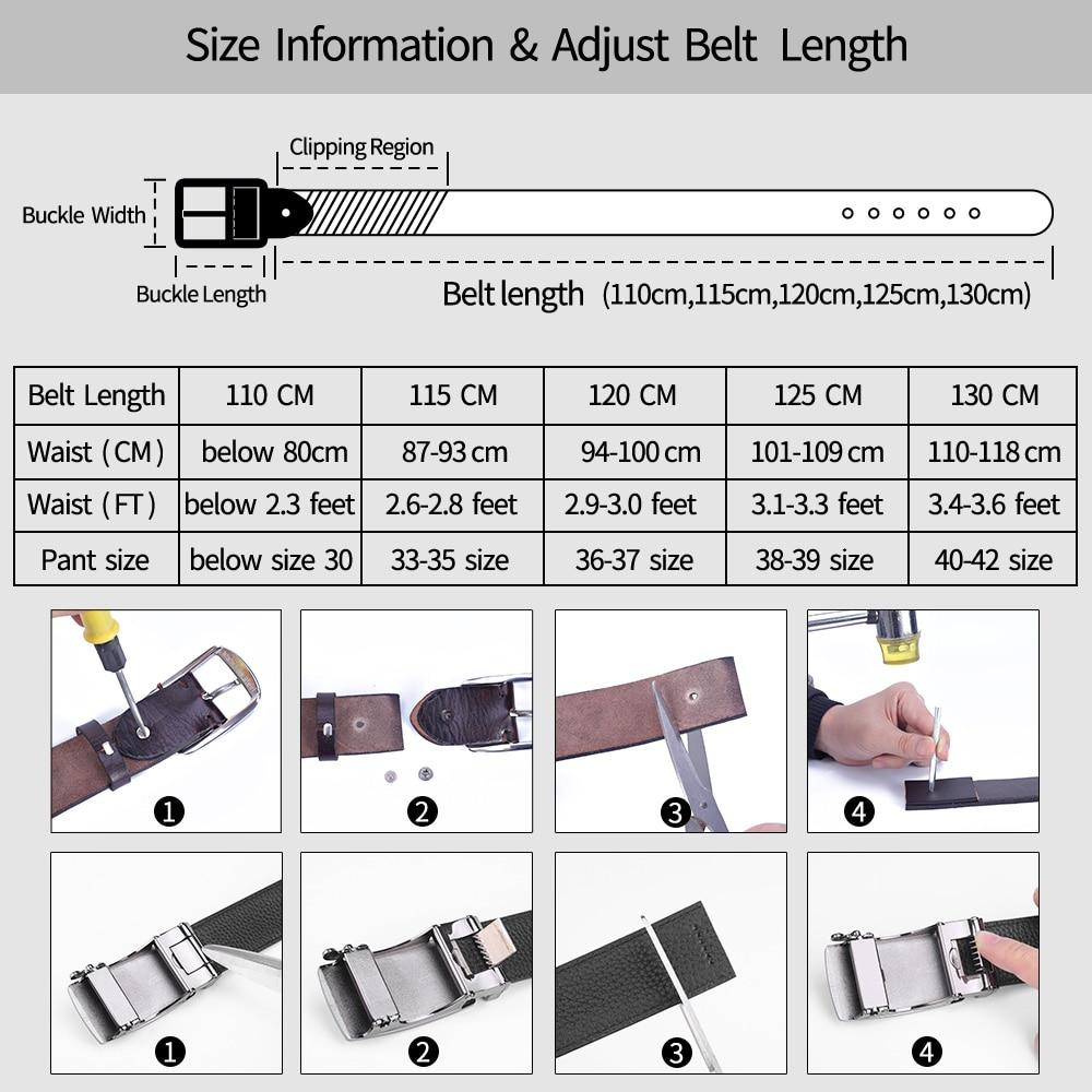 OutOff Cow Leather Belts - outoff