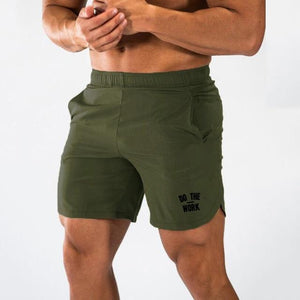 Men Gym Fitness Training Run Jogging Shorts - outoff