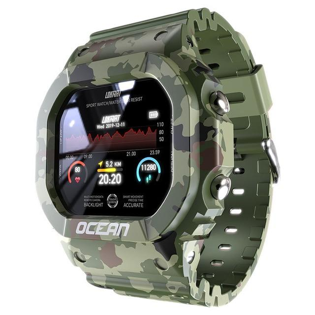 Smart Watch Men Fitness Smartwatch Android - outoff