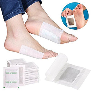 10pcs Slimming Foot Patches Detox Foot Patch with Sticky Cloth Remove Toxin - outoff