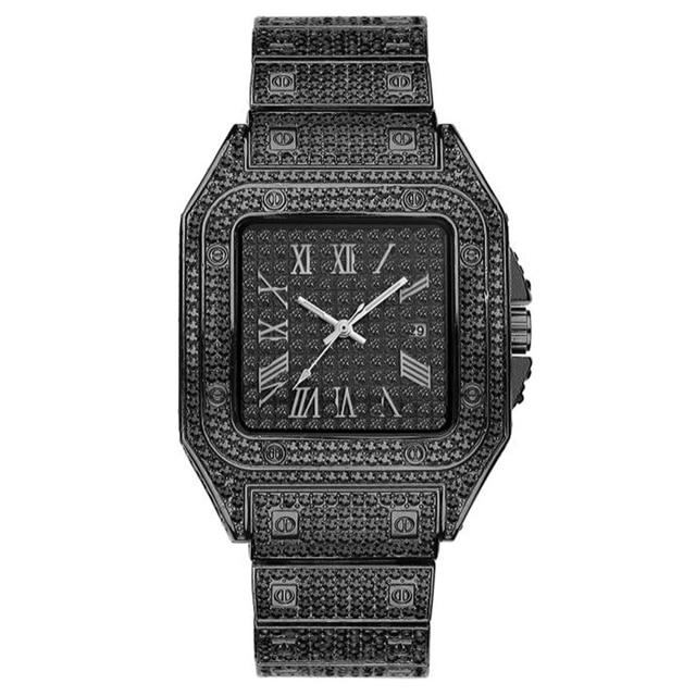Luxury Sports Diamond Hip Hop Iced Out Watch v1 - outoff