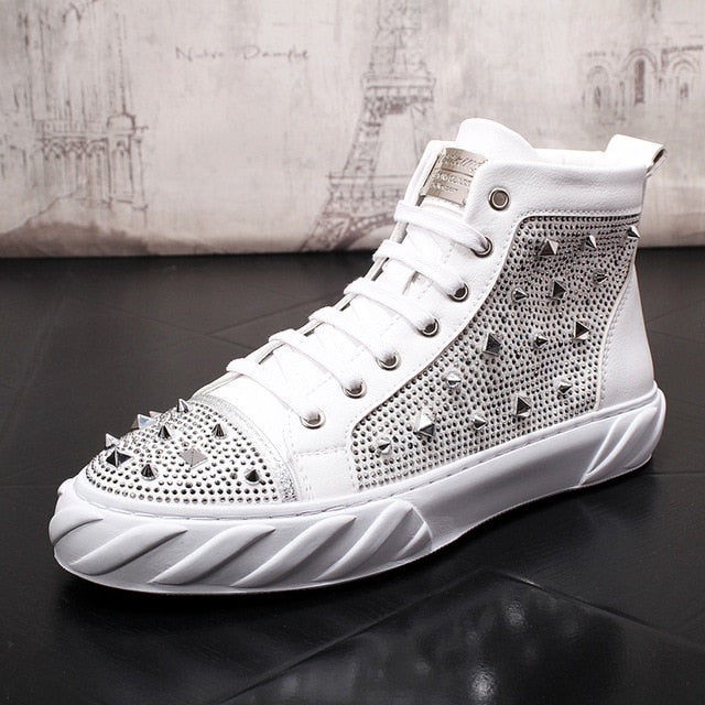 OutOff Fashion Spike Sneakers - outoff