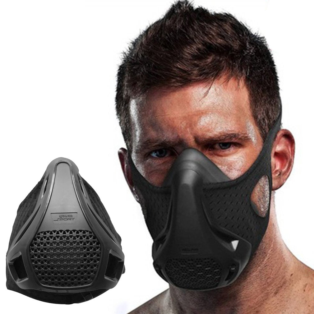 Oxygen Barrier Sports Mask Fitness Running Plateau Altitude Riding Training Mask - outoff