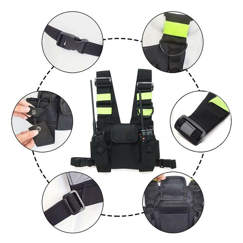 Functional Tactical Chest Bag For UNISEX Fashion - outoff