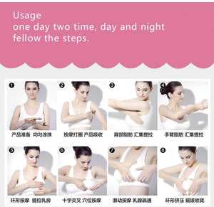 Best Up Size Bust Care Breast Enhancement Cream Breast Enlargement Promote Female Hormones Breast Lift Firming Massage Cream - outoff