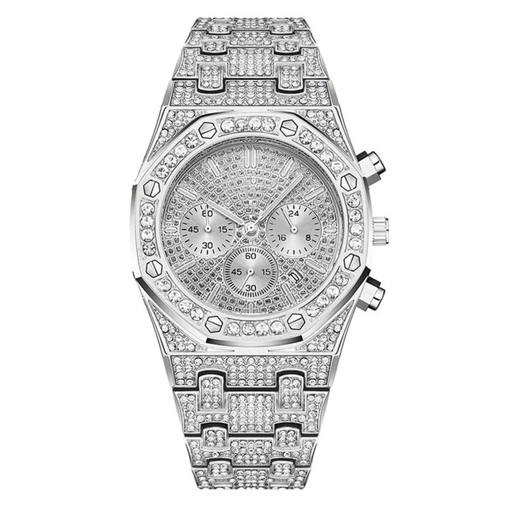 Luxury Sports Diamond Hip Hop Iced Out Watch - outoff