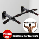 Door Wall Horizontal Bars Steel 200kg Home Gym Workout Training Bar (with DHL very fast Shipping) - outoff