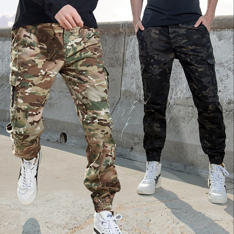 Camouflage Cargo Pants Streetwear - outoff
