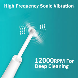 5 In 1 Electric Sound Wave Dental Scaler Tooth Stain Plaque Calculus Remover Teeth Whitening Cleaning Scalers Not Ultrasonic - outoff