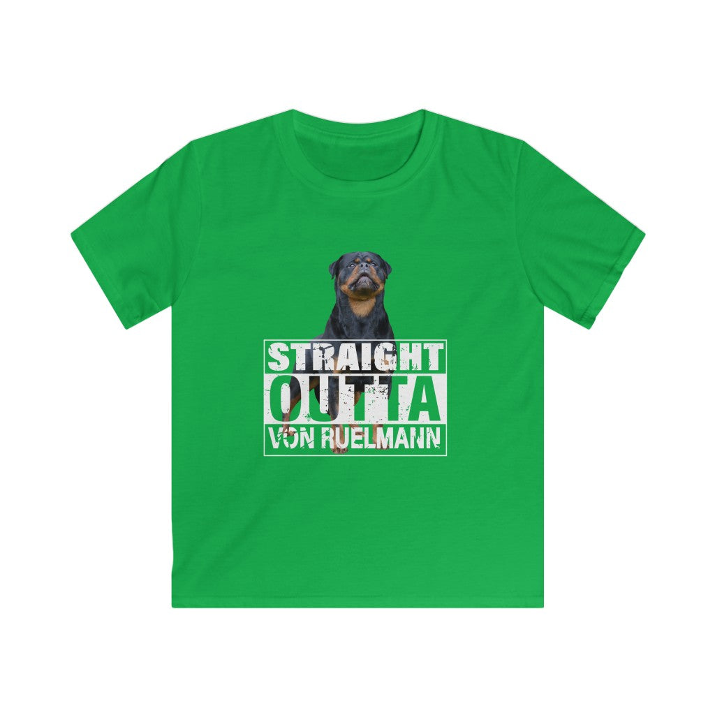 Straight Outta Kids Softstyle Tee
