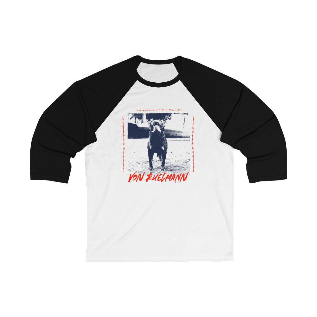 Freak Show Frenki Unisex 3/4 Sleeve Baseball Tee