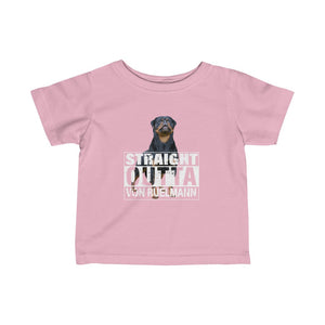 Straight Outta Infant Fine Jersey Tee