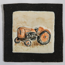 Load image into Gallery viewer, Fiat Tractor Hand Made Porcelain Tile