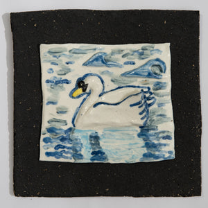 Swan Hand Made Porcelain Tile
