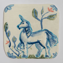 Load image into Gallery viewer, Unicorn Hand Made Porcelain Tile