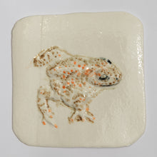 Load image into Gallery viewer, Natter Jack Toad Hand Made Porcelain Tile