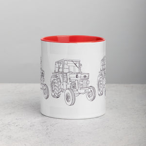 Massey 165 Mug with Color Inside