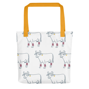 Tote bag Crazy Cow
