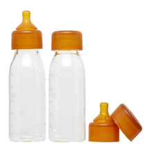 Load image into Gallery viewer, Baby Quoddle Glass Baby Bottles- 300ml