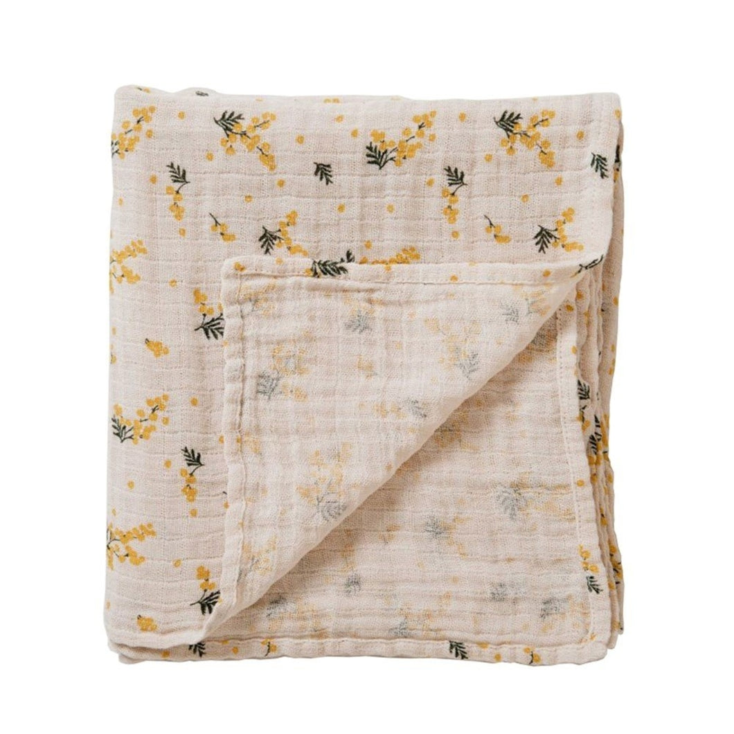 Garbo&Friends Swaddle Blanket – Mimosa