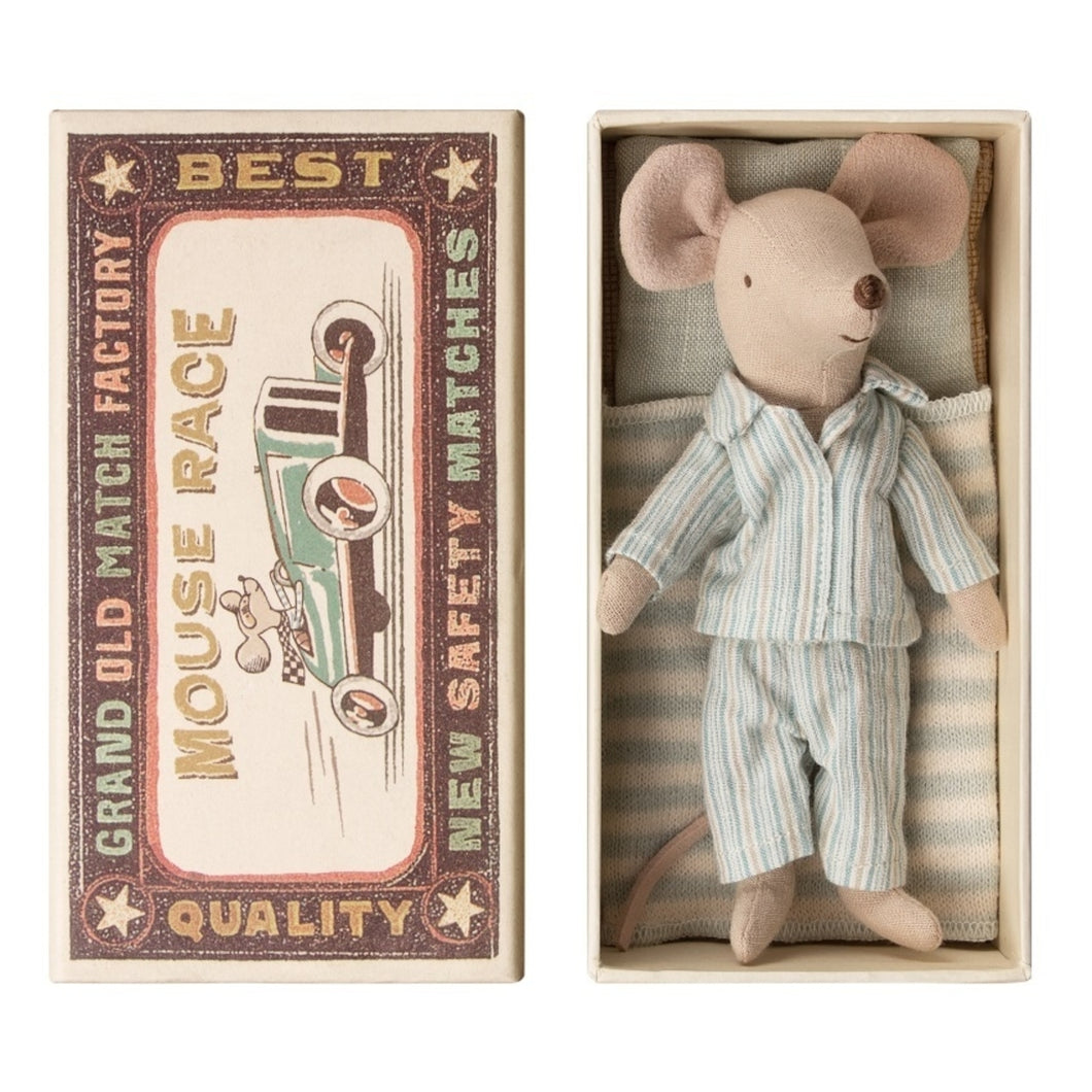 Maileg Big Brother Mouse in Box new born baby toys