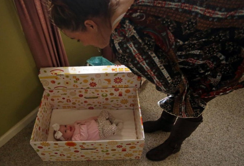 Can gift sleeping boxes reduce Ohio baby deaths?