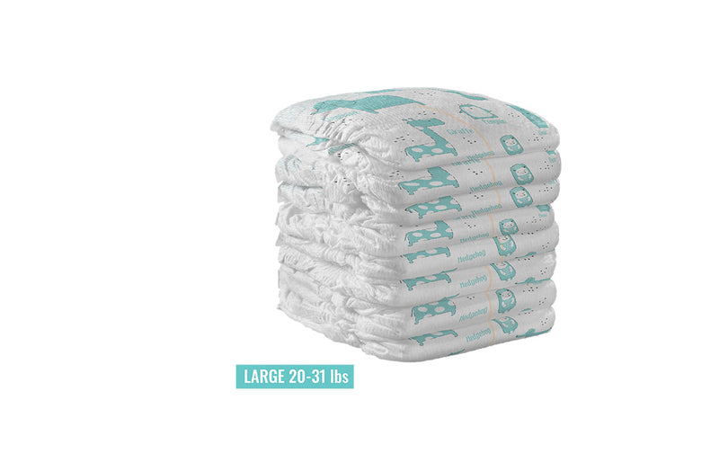 Bamboo Baby Diapers - 1 Month Supply