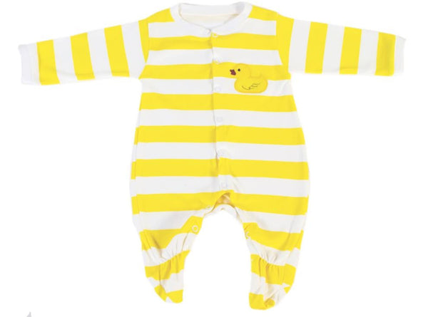 Romper - Yellow Ducky