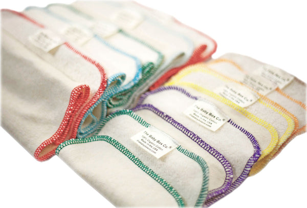 Organic Wash and Burp Cloth Bundle