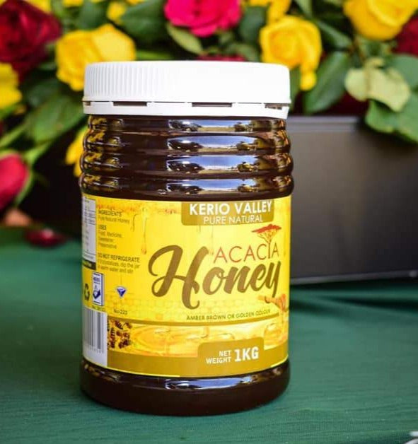 Acacia Honey (1kg) - Kerio Valley Pure Natural Honey