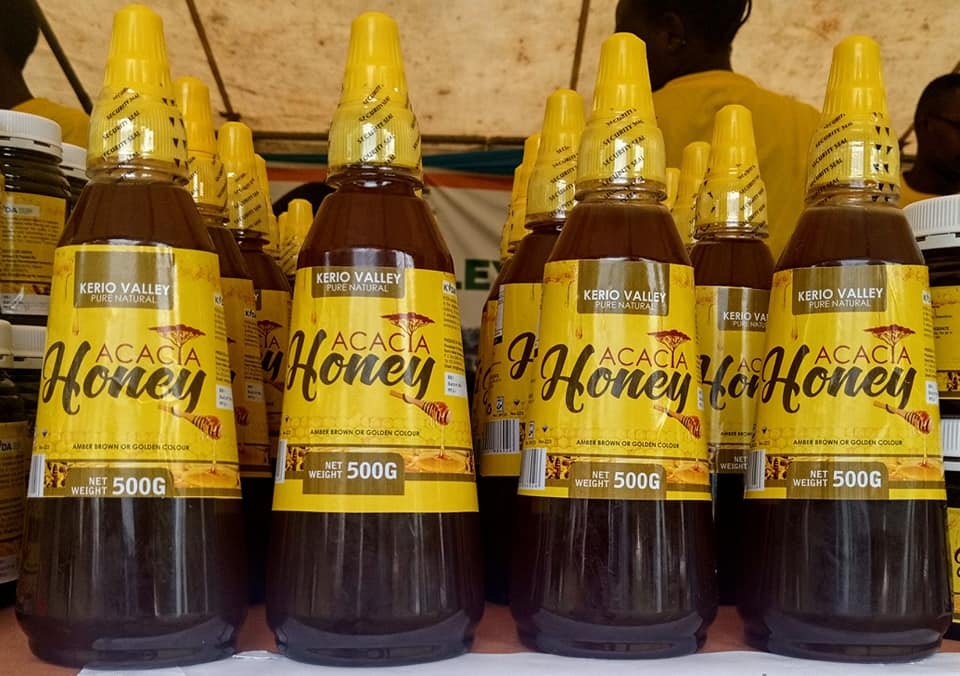 Acacia Honey (500g) Sqz - Kerio Valley Pure Natural Honey