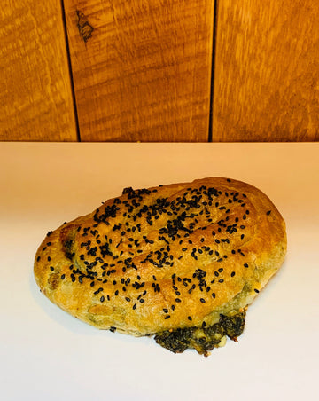 Feta Cheese + Spinach Bourek