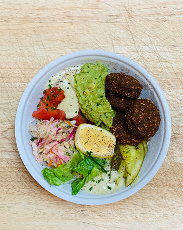 Vegan and Gluten-Free Falafel Bowl