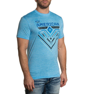 American Fighter Crystal River T-Shirt Coco Blue