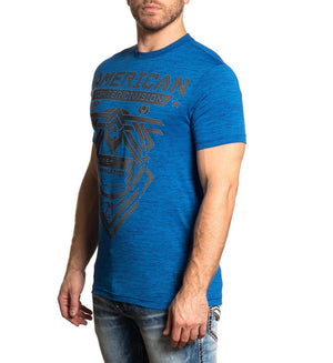 American Fighter Addy T-Shirt Sapphire Blue