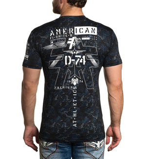 American Fighter Cofield T-Shirt Black Multi