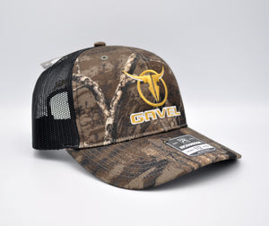 Gavel Logo R112 Realtree Timber Cap