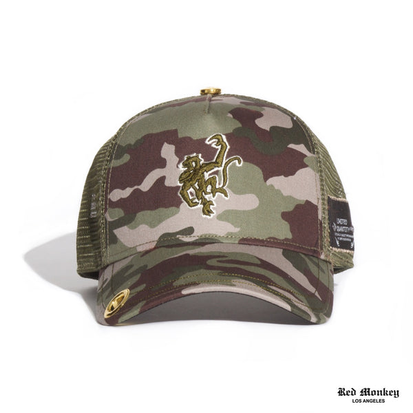 Red Monkey Replica 2019 Camo Trucker Hat 95cd8d481b