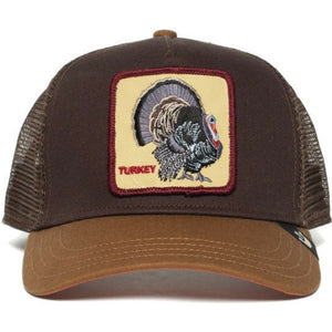 Goorin Bros Turkey Brown Trucker Hat