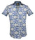 Gavel Men's Tervel Blue Fashion Dress Shirt