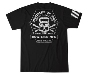 Howitzer Disciples of Iron T-Shirt Black
