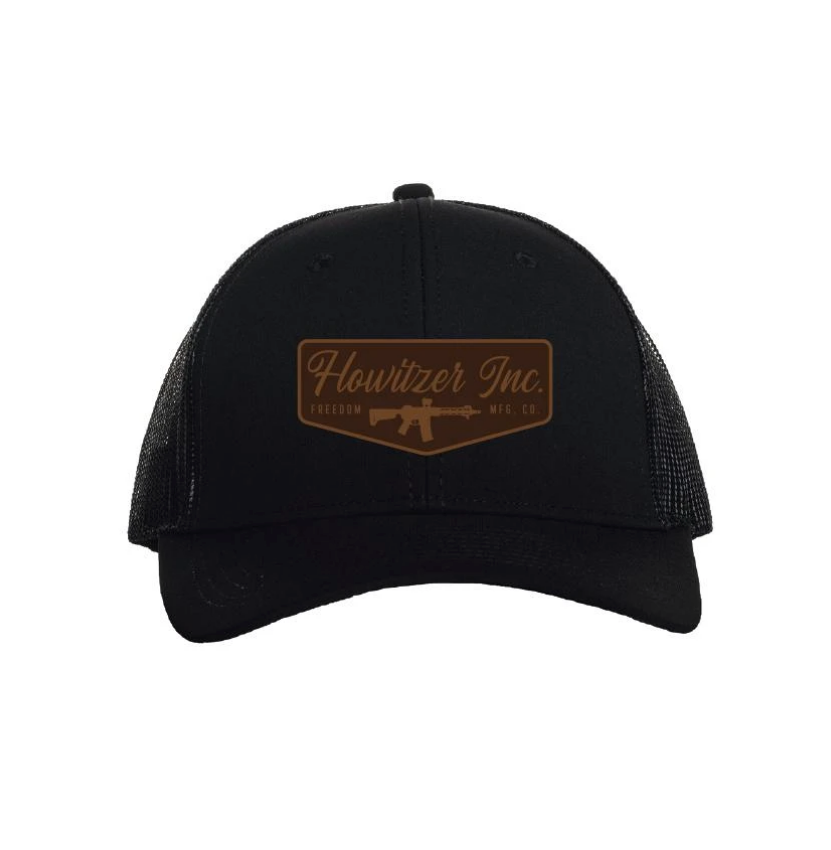 Howitzer Stamp Trucker Hat Black