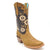 Luma Valeria Women's Brown Square Toe Boots