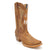 Luma Nora Women's Native Western Embroidery Square Toe Boot Brown