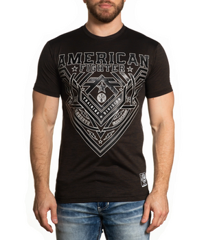 American Fighter Fallbrook T-Shirt Chocolate Brown