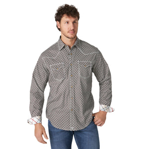 Wrangler Men's 20X Competition Olive Snap Shirt