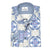 Steelo Mens Blue/White Fashion Dress Shirt