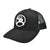 Hooey Roughy 2.0 Black and White Mesh Cap