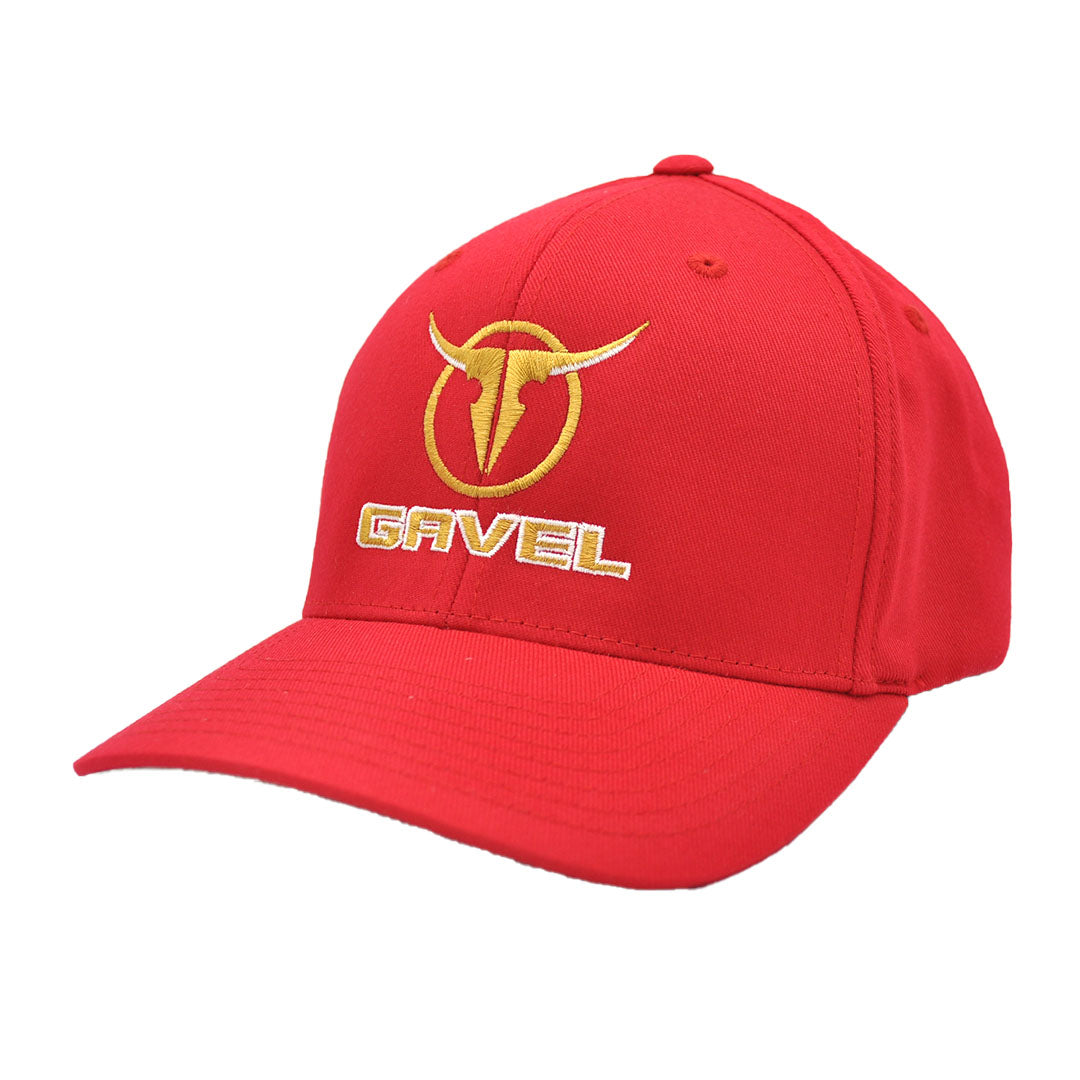 Gavel Logo Flexfit Twill Red Cap